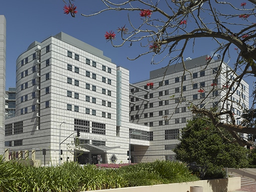 An exterior view of Ronald Reagan UCLA Medical Center