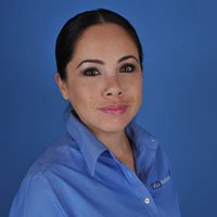 A photo of Dr. Jason Roostaeian's UCLA receptionist Wendy Salazar